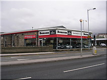 SE1537 : Benson at Shipley - Otley Road by Betty Longbottom