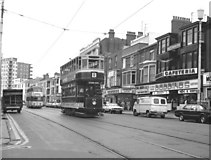 SD3036 : Tram near the Metropole, Blackpool by Dr Neil Clifton