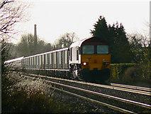 SU2763 : Aggregate train to London, near Crofton by Brian Robert Marshall