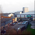 TR2137 : Retail Park at Park Farm Road by Oast House Archive