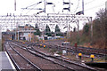 SP3378 : Junction at Coventry Railway station by Andy F