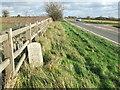 TM1778 : Old Milepost by Keith Evans
