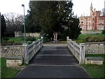 NZ2560 : Primosole Bridge, Saltwell Park by Andrew Curtis