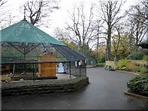 NZ2561 : Aviaries, Saltwell Park by Andrew Curtis