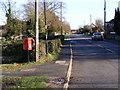 TM2972 : B1117 High Street & Village Pond Postbox by Geographer