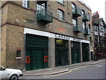 TQ3680 : Horns Tavern pub (site of)  255, Rotherhithe Street, London, SE16 by Chris Lordan