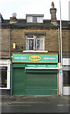 SE1734 : Sparks Bakers - Otley Road by Betty Longbottom