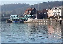 ST5772 : Footbridge, Bristol Floating Harbour by Anthony O'Neil