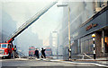 J3374 : Fire at Woolworths, Belfast (1970) by Albert Bridge