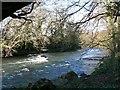 SS9082 : The Ogmore River, Pen-y-cae - Bridgend by Mick Lobb