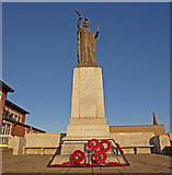 NS3230 : War Memorial, Troon by wfmillar