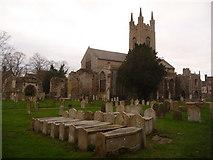 TM3389 : Bungay: parish church of St. Mary by Chris Downer