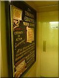 TM3389 : Bungay: Crapper water closet advert in the Fleece Inn by Chris Downer