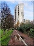 TQ2574 : Argento Tower by Derek Harper