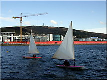 SS6692 : Prince of Wales dock and Kilvey Hill by ceridwen