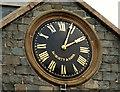 J3652 : Clock, Ballynahinch (2) by Albert Bridge
