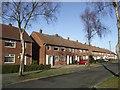SJ9203 : Council Housing - Wentworth Road by John M
