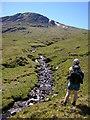 NN3937 : Headwaters of the Allt Fionn a' Ghlinne by Karl and Ali
