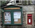 ST7869 : 2009 : Parish notice board and EIIR postbox by Maurice Pullin