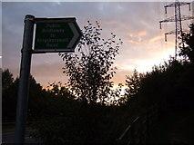SX9066 : Bridleway to Kingskerswell Road by Behn Kerslake