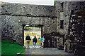 M3810 : Kinvarra - Dunguaire Castle entrance from interior by Joseph Mischyshyn