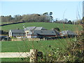 SX4063 : Farm buildings at Stockadon by Sarah Charlesworth