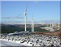 SN8077 : Cefn Croes wind farm by Nigel Brown