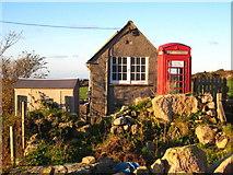 SW4538 : Zennor telephone exchange by Rod Allday