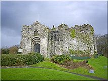 SS6188 : Oystermouth Castle by Nick Earl