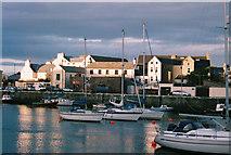 SC2484 : Evening at Peel Harbour by Donald MacDonald