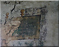 SK7648 : Elston Old Chapel, Wall paintings by Alan Murray-Rust