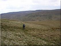 NY5110 : Bleak moorland above Sleddale Beck by Karl and Ali