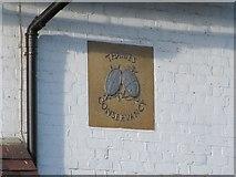 SU5980 : Plaque on the house by Bill Nicholls