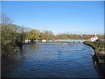 SU5980 : Goring Weir in flow by Bill Nicholls