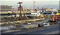 J3474 : Weir and cross-harbour links, Belfast (14) by Albert Bridge