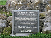 G6339 : Memorial plaque, Rosses Point by Willie Duffin