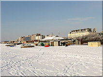 TQ2804 : Fishermen's Area, Hove Beach by Simon Carey