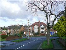 SO9096 : Buckingham Road, Penn, Wolverhampton by Roger  Kidd