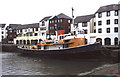 NY0336 : Maryport Harbour by Chris Allen