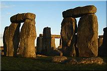 SU1242 : Sarsen Stones at Stonehenge by Peter Trimming