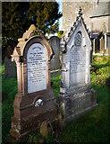 J5081 : Gravestones, Bangor Abbey churchyard by Rossographer