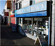 J5081 : 'Abbey Pharmacy', Bangor by Rossographer