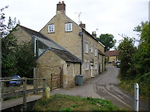 TF0117 : Looking up Church Lane, Little Bytham by Stephen Armstrong