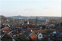 SU4829 : View across Winchester by Graham Horn