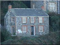 SW9980 : Fern Cottage, Roscarrock Hill, Port Isaac by Bill Henderson