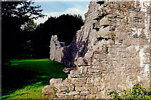 M1455 : Cong Abbey wall along the river by Joseph Mischyshyn