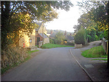 SK4565 : Stainsby village by Trevor Rickard