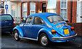 """J3372 : Volkswagen """"Beetle"""", Belfast by Albert Bridge"""