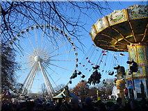 TQ2780 : Christmas Funfair, Hyde Park by Colin Smith