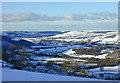SN6777 : The Rheidol valley in snow by Nigel Brown